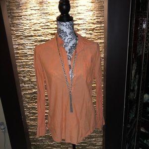 Ralph  Lauren Jeans  Sleeve Button-Down Shirt